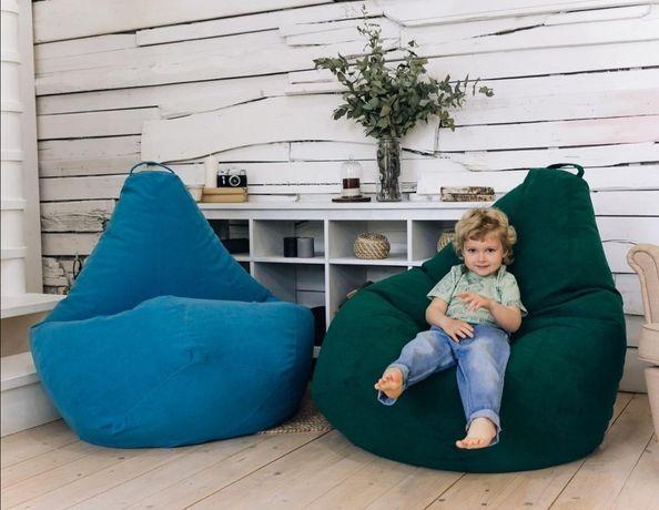 Кресло мешок / бескаркасная мебель пуфики кресло мешки груша бин бэг