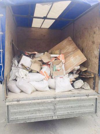 Вывоз мусора на свалку хлам