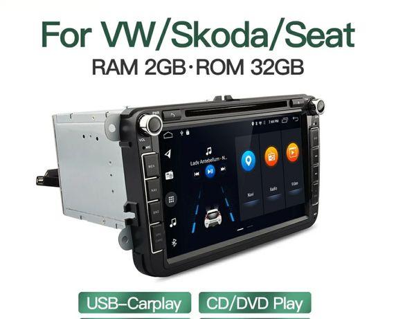 Мултимедия Фолксваген Сеат Шкода Андроид 2GB 32G  VW SEAT SKODA RNS510