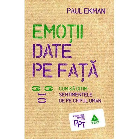 Emotii date pe fata - Paul Ekman
