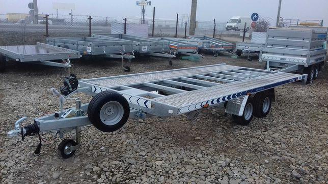 Trailer Auto 2700 kg Lorries 450x210 cm uz Profesional cu Basculare