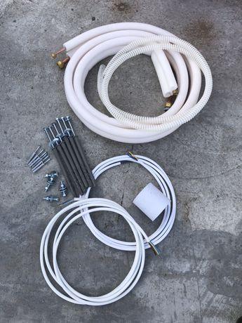 Kit instalare / montaj aer conditionat/AC 9000-12000 BTU 3,4,5,6,7ml..