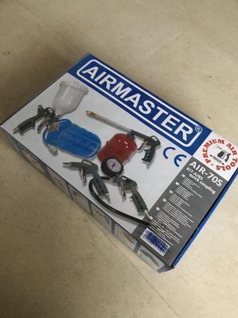 Set pistol aer 5 piese Airmaster nou