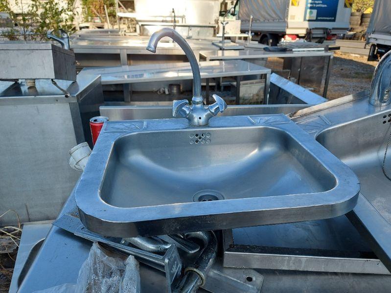 Стенна мивка с батерия 48х40 гр. Берковица - image 1