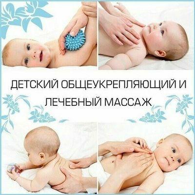 Детский массаж Атырау