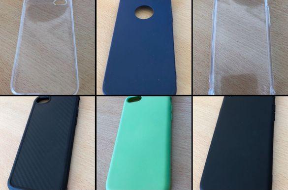 Iphone 5 5s 7 8 Case айфон силиконов кейс калъф удароустойчив