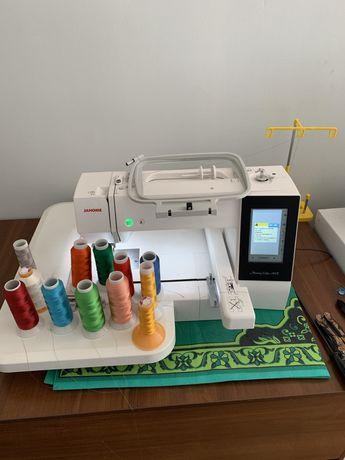 Janome 500e вышивальный машина