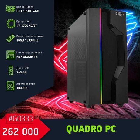 Производительный Игровой Компьютер на i7-4770/GTX1050Ti 4GB/16GB
