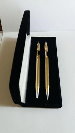 Pix si creion mecanic Cross placate cu aur