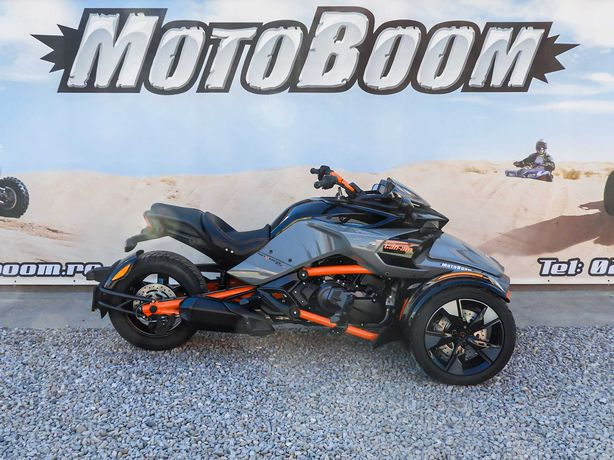 Promo Can-Am Spyder F3 S Special Series SE6 2021