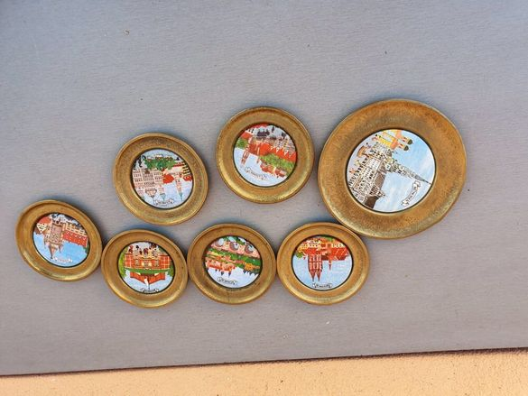 немски подложки от месинг и порцелан