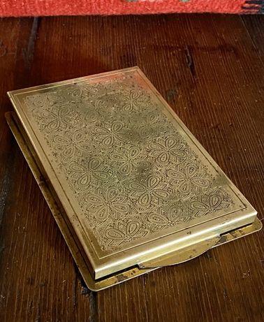 1648at Coperta agenda birou interbelica, cu reclama regalista.