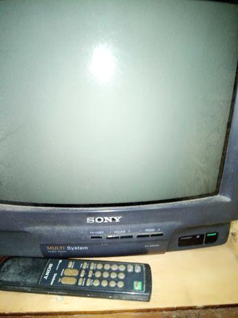 """Телевизор """"Сони Тринитрон"""" 34см японски"""
