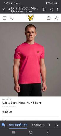 Нова оригинална тениска  LYLE & SCOTT XL