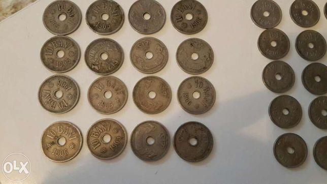 Vand Lot Monede 5-10 banii 1905 -1906