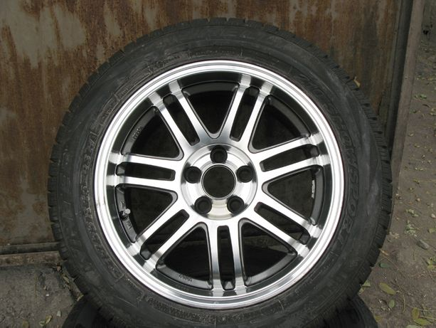 Итальянские диски МАК: 7J*16 5/100, зимняя резина Pirelli 215/55 R16
