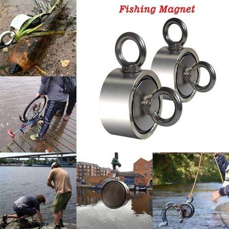 Magnet Fishing D94 mm 300 Kg Forta prindere mare apa fantani metale