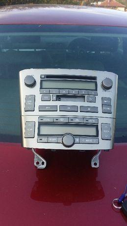 Управление на климатик Радио тойота авенсис Toyota avensis 2004