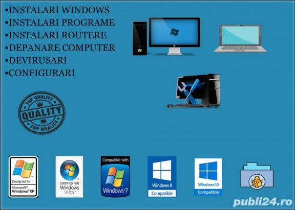 Instalare Windows,10,8,7 Router,GPS etc