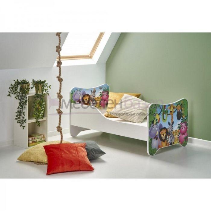Детско легло джунгла