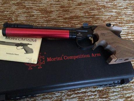 Швейцарски въздушен пистолет Morini