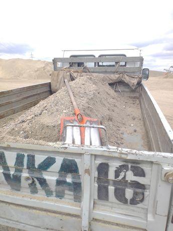 Гравий 6000 Отсев щебень Песок Глина(2тонны)