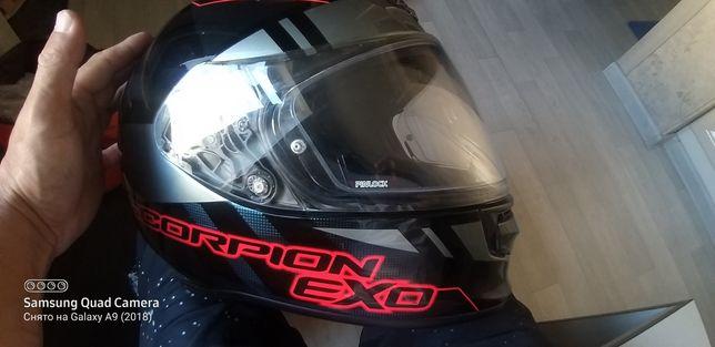 Мото шлем скорпион иксо