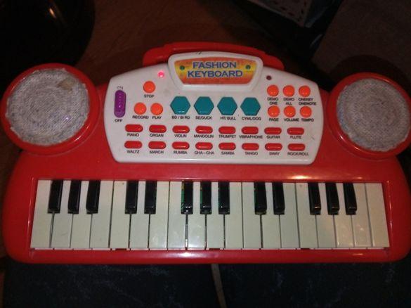 Детска йоника пиано с много звуци