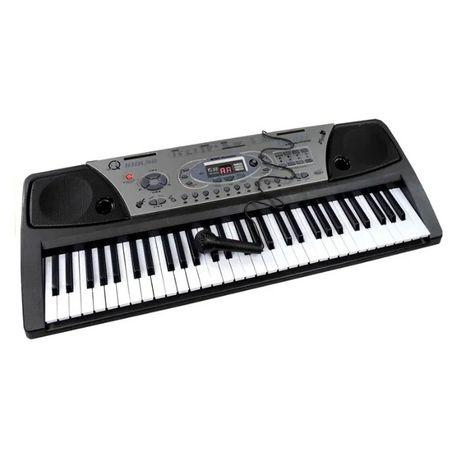 Orga electronica cu USB, 100 ritmuri, 61 clape, 5 percutii,afisaj lcd