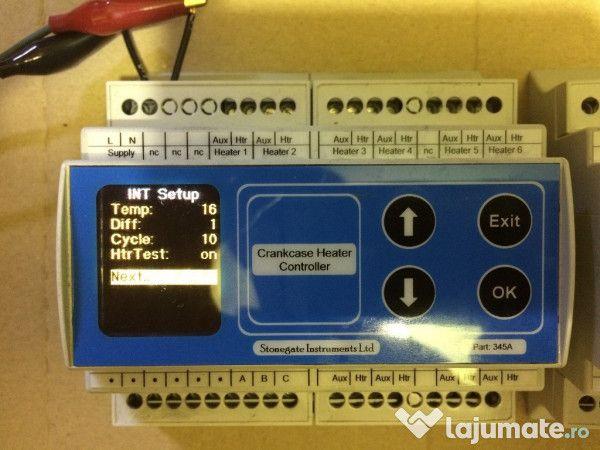 Controlul Încălziri cu 3 senzori digitali pentru sisteme de încălzire