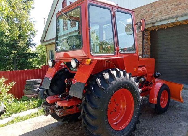 Трактор т25 после кап ремонта