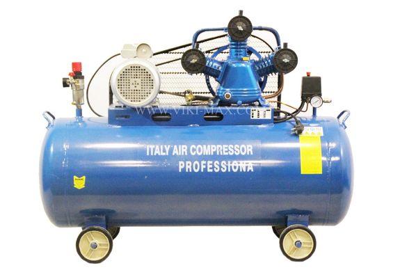Компресор за въздух с обем на съда 100L с три глави