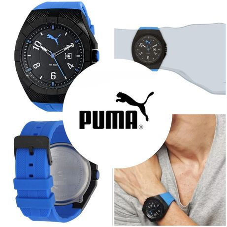 Ceas Puma Iconic Blue