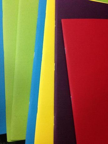Тетрадки с цветни листа Fabriano 29х21см НОВИ