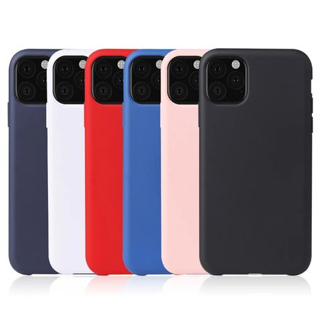 Матов Силиконов Кейс за Iphone 11 / 11 Pro / 11 Pro Max / XS XR 6S 7 8