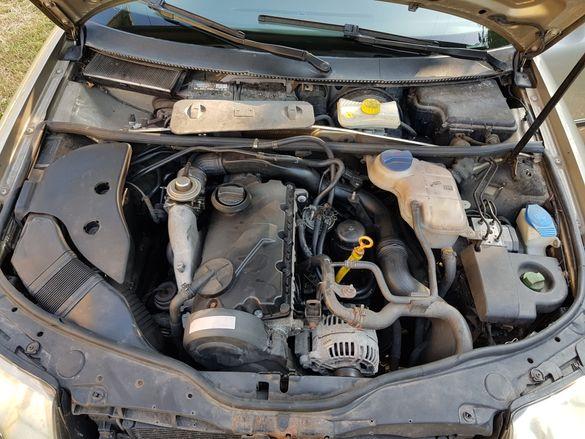 Двигател на части 1.9 тди 131кс Шкода Пасат Ауди Skoda Vw passat Audi