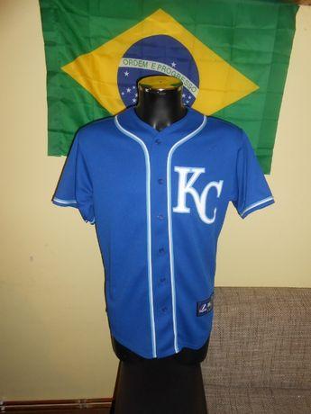 tricou baseball mlb kansas city royals majestic marimea M nou