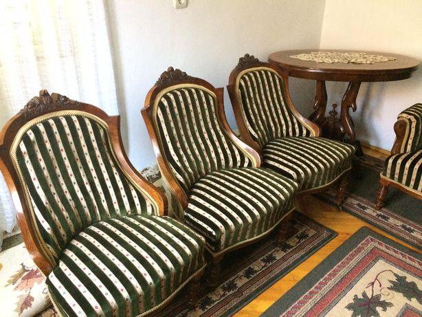 Canapea si fotolii antice, stil Baroc