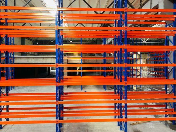 Rafturi metalice industriale pentru dipozitare euro paleți și diferite