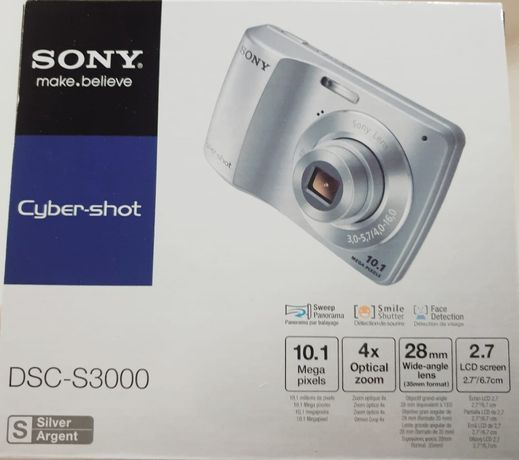 Aparat foto Sony Cybershoot DSC-S3000, transport GRATUIT