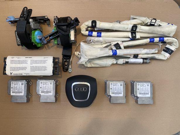 Kit airbag / Centuri / Pasager / Sofer / Cortine Audi A4 B8