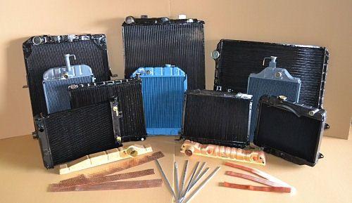 Водни Медни Радиатори авторадиаториремонт производство меден радиатор