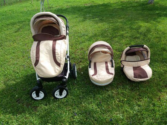 Детска количка CARRERA 3 в 1