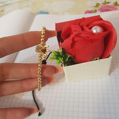 Set cadou trandafir de săpun