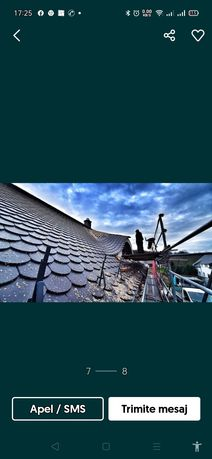 Reparatii acoperis și izolația casei