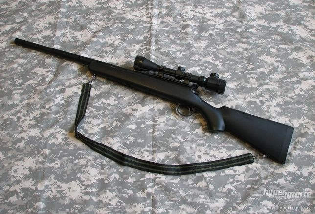 PUSCA F.PUTERNICA-AWP Airsoft Modificata Aer Comprimat 6mm VRS-10 Swat