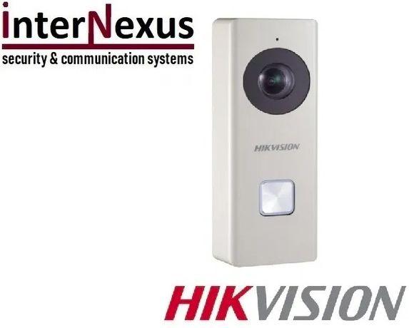 Wi-Fi звънец с Full HD резолюция HikVision B6403-WIP, обектив 180°