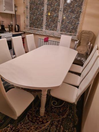 Кухонный стол стулья уголоктар