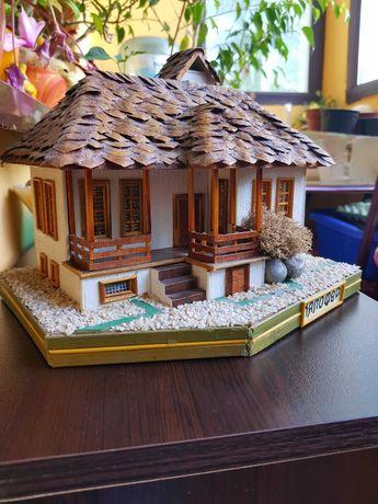 Макет на къщата на Христо Ботев- Калофер. Ръчно изработен