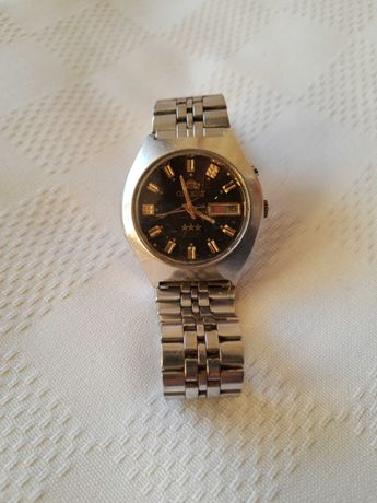 """Часовник """"Ориент"""",употребяван,отличен"""